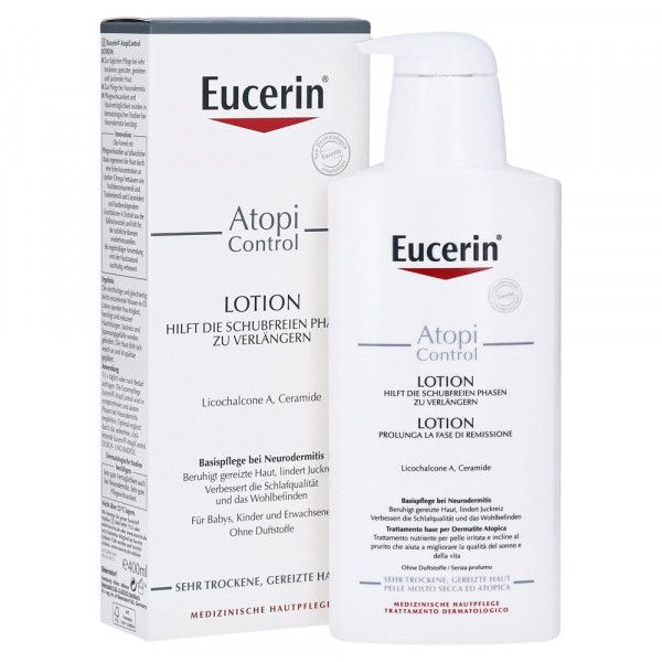 Eucerin AtopiControl Lotion for the relief of neurodermatitis, 400ml