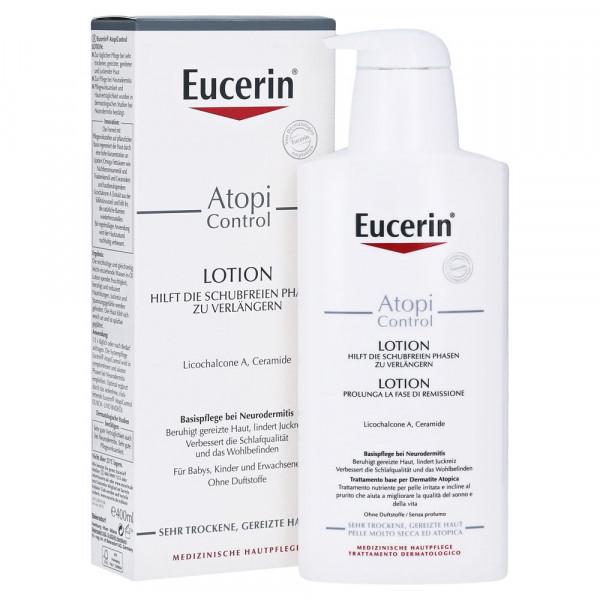 德国Eucerin 优色林湿疹抗过敏舒缓乳液 400ml