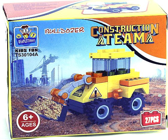 "building blocks ""construction machines"", Bulldozer"