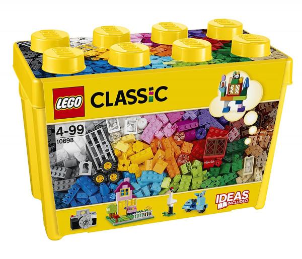 德国Lego 乐高 10698经典创意系列 大号积木盒儿童 积木 玩具4岁-99岁