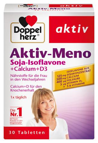 Doppelherz; Aktiv-Meno; Calcium; Nahrungsergänzung; Tabletten