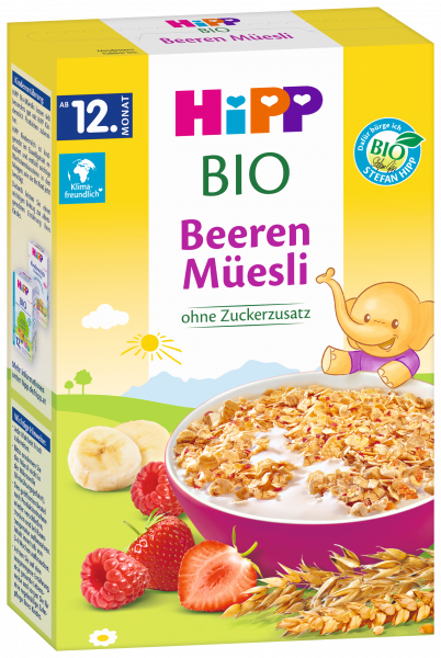 Hipp Bio children berry muesli from the 12th month, 200g