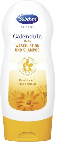 Bübchen Calendula Wash Lotion & Shampoo 230 ml