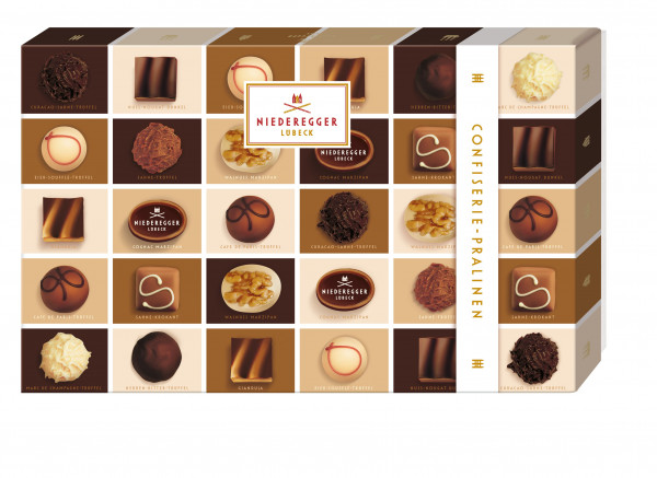 Niederegger confectionery chocolates 380g