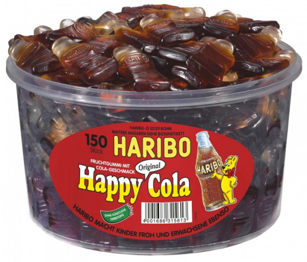 Haribo; Happy Cola; Dose; 150St.