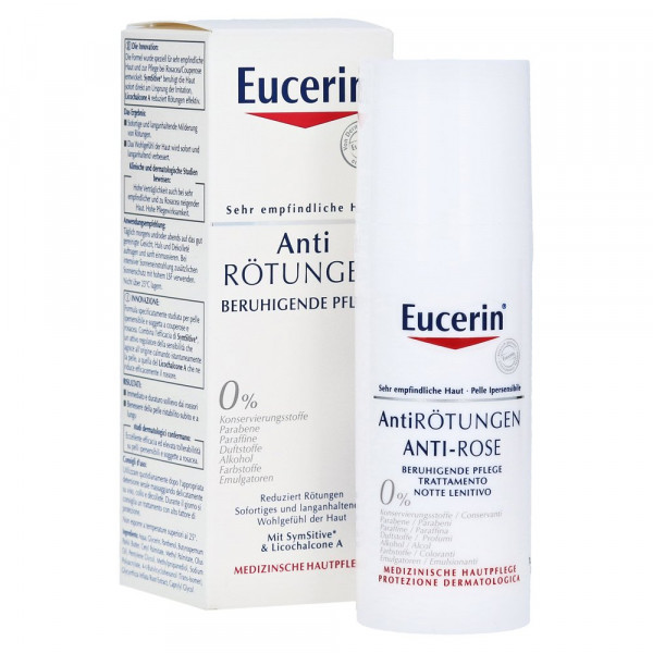 Eucerin Anti Redness Soothing Care Cream Day and Night Care, 50ml