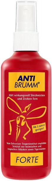 Anti Brumm® Forte, spray antimosquitos con DEET, spray con bomba, 150ml, repelente de insectos para una protección eficaz contra los mosquitos y las garrapatas.
