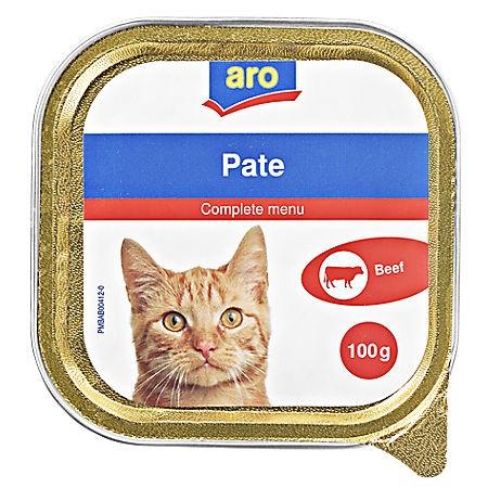 ARO Katzenmenü Rind, 100g Packung