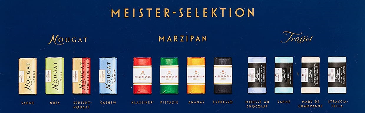 Niederegger master selection 500g
