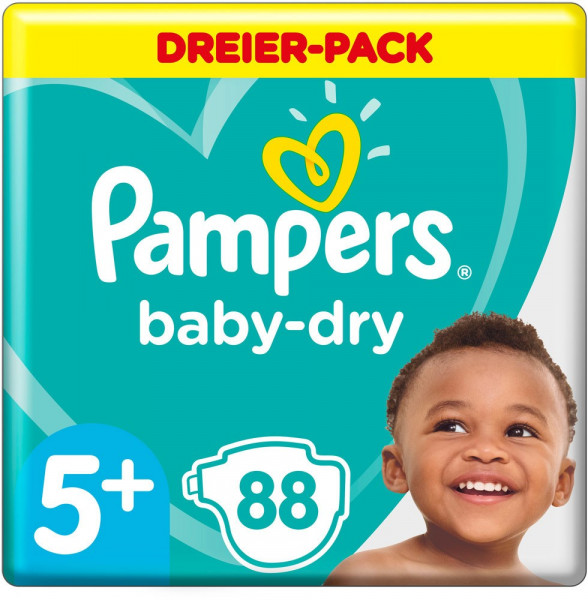 Pampers BabyDry taille 5+ (Junior+)