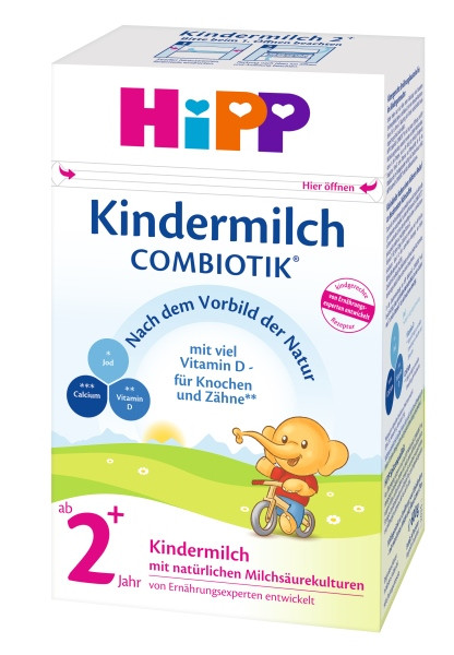 Hipp Kindermilch Combiotik 2+ ab 2 Jahren
