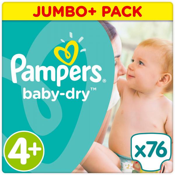 Pampers BabyDry Größe 4+ (Maxi)