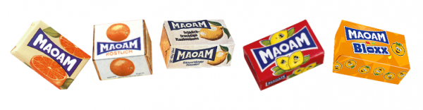 Collection Maoam