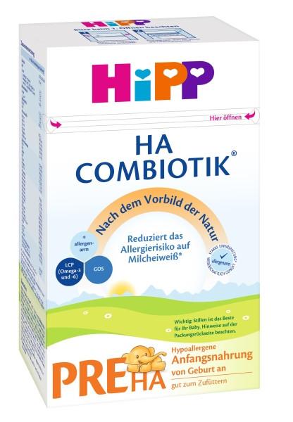Hipp HA PRE Combiotik Hypoallergene Anfangsmilch, 500g