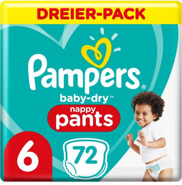 Mochilas BabyDry Pants Talla 6 (XL)