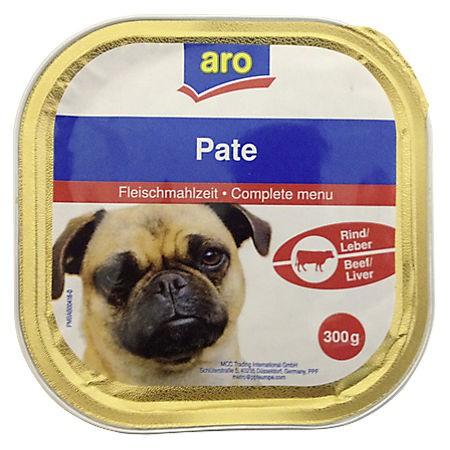 ARO Hundemenü Rind/Leber, 300g Packung