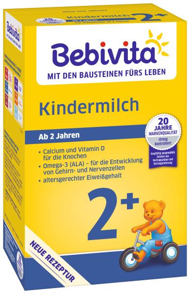 Bebivita children's milk 2+ from 2 years of age, 500g