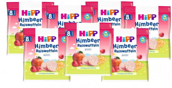 Hipp Himbeer-Reiswaffeln 30g, 7er-Pack (7x30g)